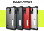 ORIGINAL Casing samsung Galaxy Note 4 Spigen Tough Armor