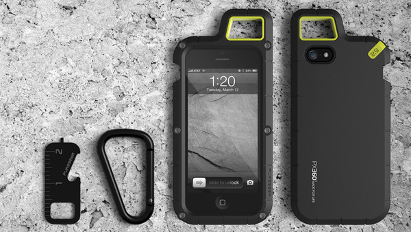 Outdoor case for iPhone 5