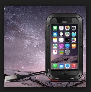 Premium adventure case love mei Iphone 6