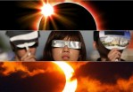 solar eclipse glasses / kacamata solar