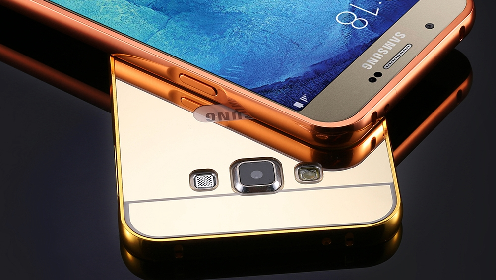a8-gold-mirror-aluminum-case-for-samsung-galaxy-a8-luxury-metal-frame-ultra-slim-clear-acrylic