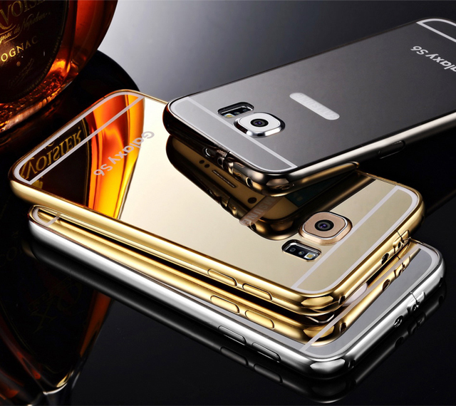 gold-glossy-case-for-samsung-galaxy-s6-luxury-hard-metal-aluminum-frame-ultrathin-mirror-acrylic-back