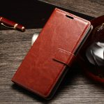 Casing Dompet Kulit For Sony Xperia M4 Aqua
