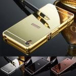 Luxury Shiny Metal Frame Case for Sony Xperia Z1