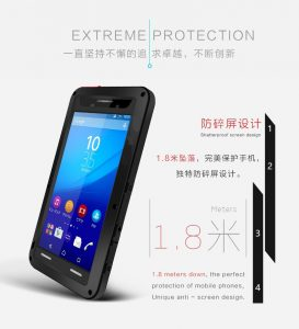 Original Outdoor Tactical Extreme Protection For Sony  Xperia M5