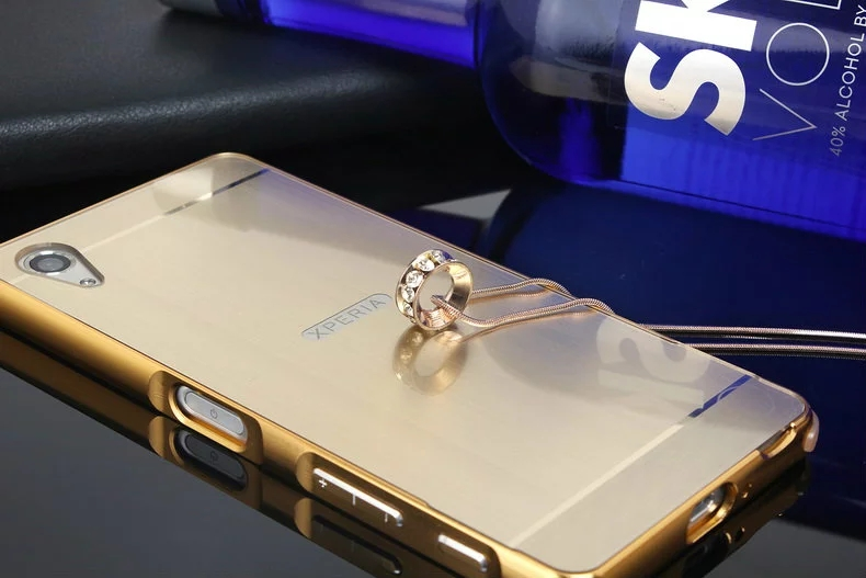 aluminum-mirror-metal-brushed-bumper-frame-phone-case-for-sony-xperia-x-xa-x-performance-gold
